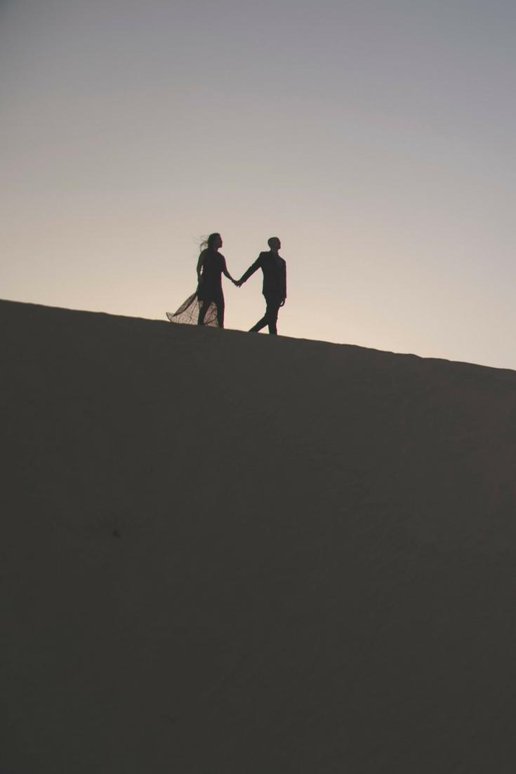 13 Desert Engagement Photos from Abu Dhabi, UAE - Slight