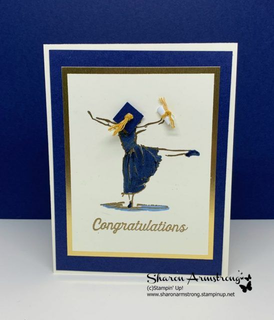 Photo of Einfache Abschlusskarten – TX Stampin 'Sharon