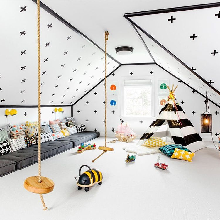"@dominomag on Instagram: ""Now THAT'S a #playroom. See this incredible family…"
