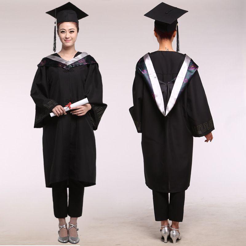 Girl Robes Academic Graduation Gowns Dress for Women University ...