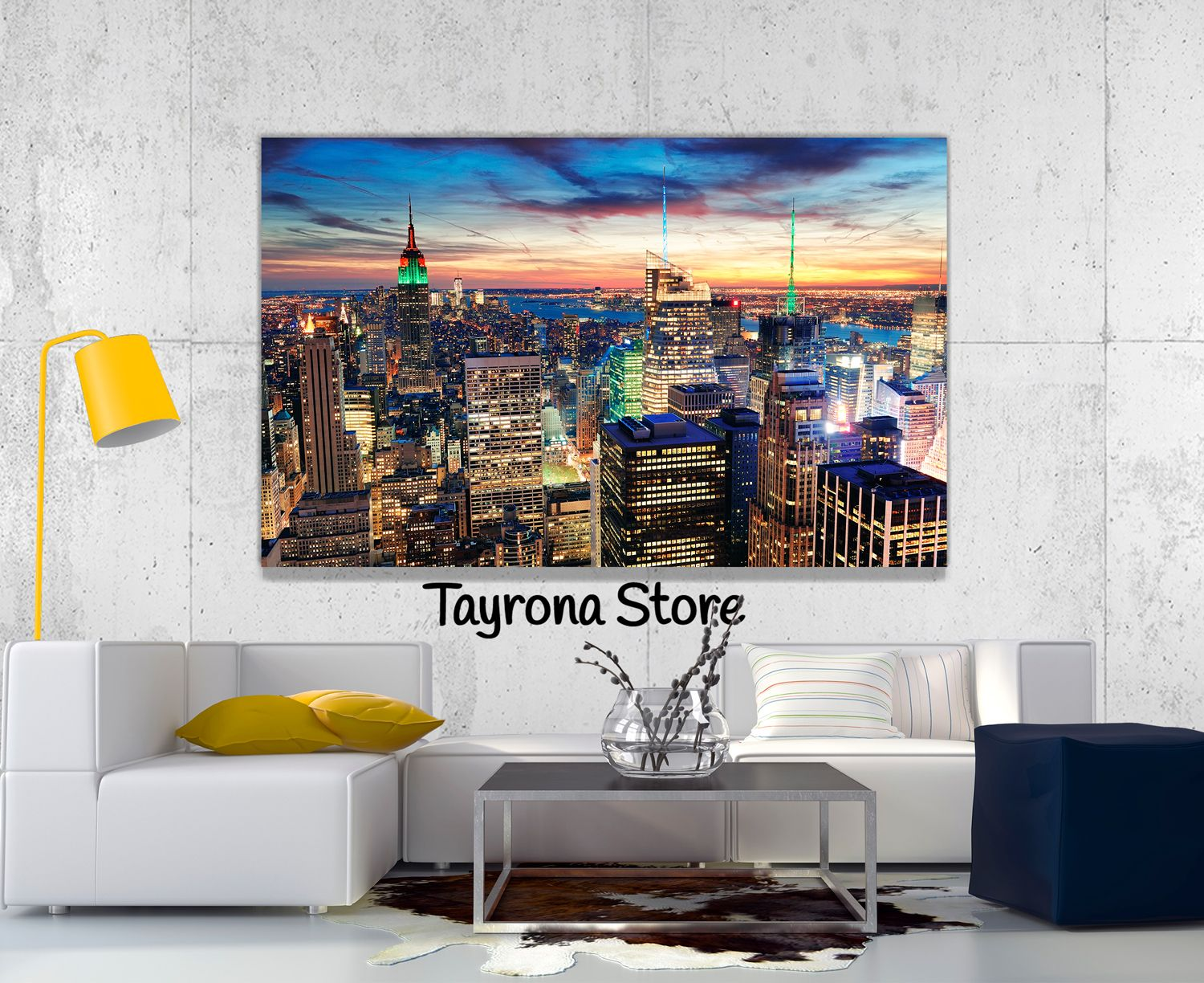 Cuadros decorativos ciudad new york 24 tayronastore for Cuadros decorativos clasicos