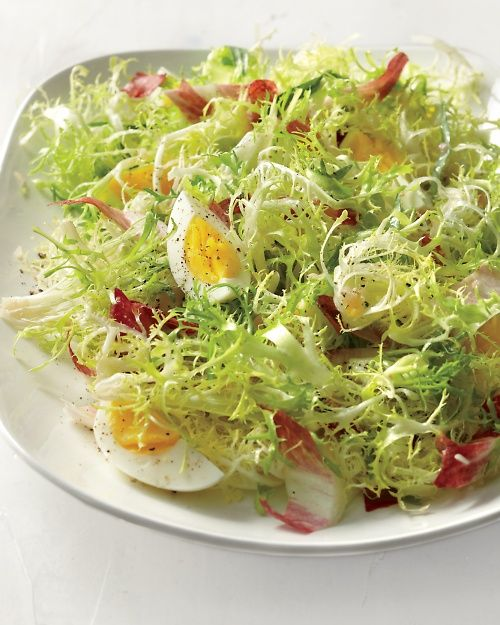 Frisee Salad with Hard-Cooked Eggs