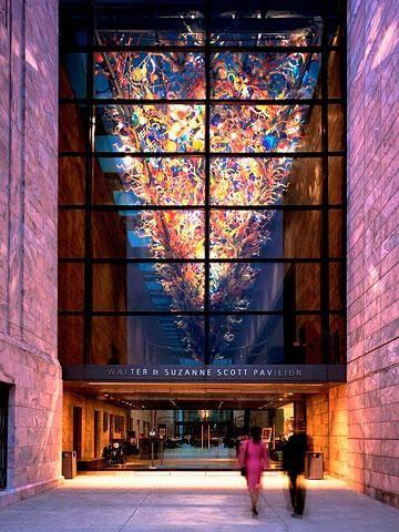 Joslyn Art Museum: A striking pink marble facade marks the Art Deco-Era institution. #omaha #nebraska    http://www.midwestliving.com/travel/nebraska/omaha/things-to-do/14-highlights-of-omaha/page/2/0#