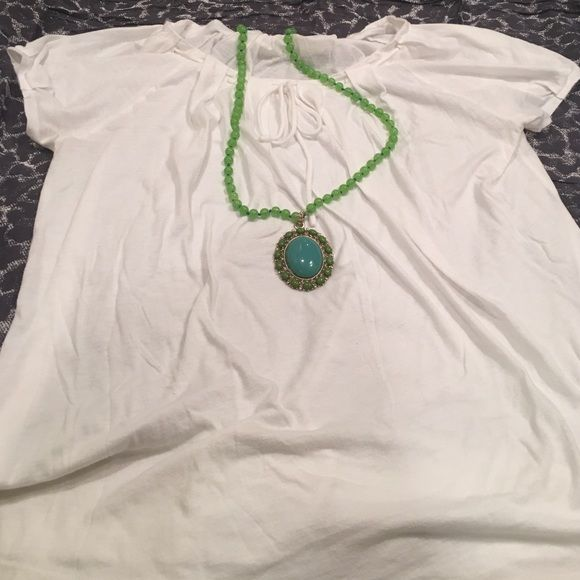 Sweet J. Crew T-Shirt J. Crew cotton tissue short sleeve white t-shirt. Tie around neck and sweetheart-style t-shirt sleeves.  Good condition, no stains or holes. Machine washable. J. Crew Tops Tees - Short Sleeve