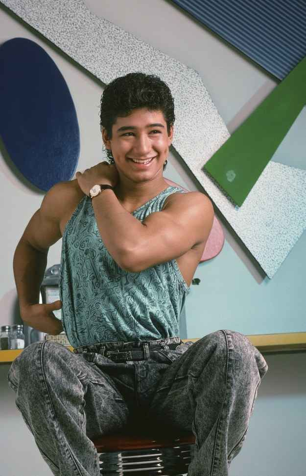 A C Slater Mario Lopez Looking Very Much Like A High School
