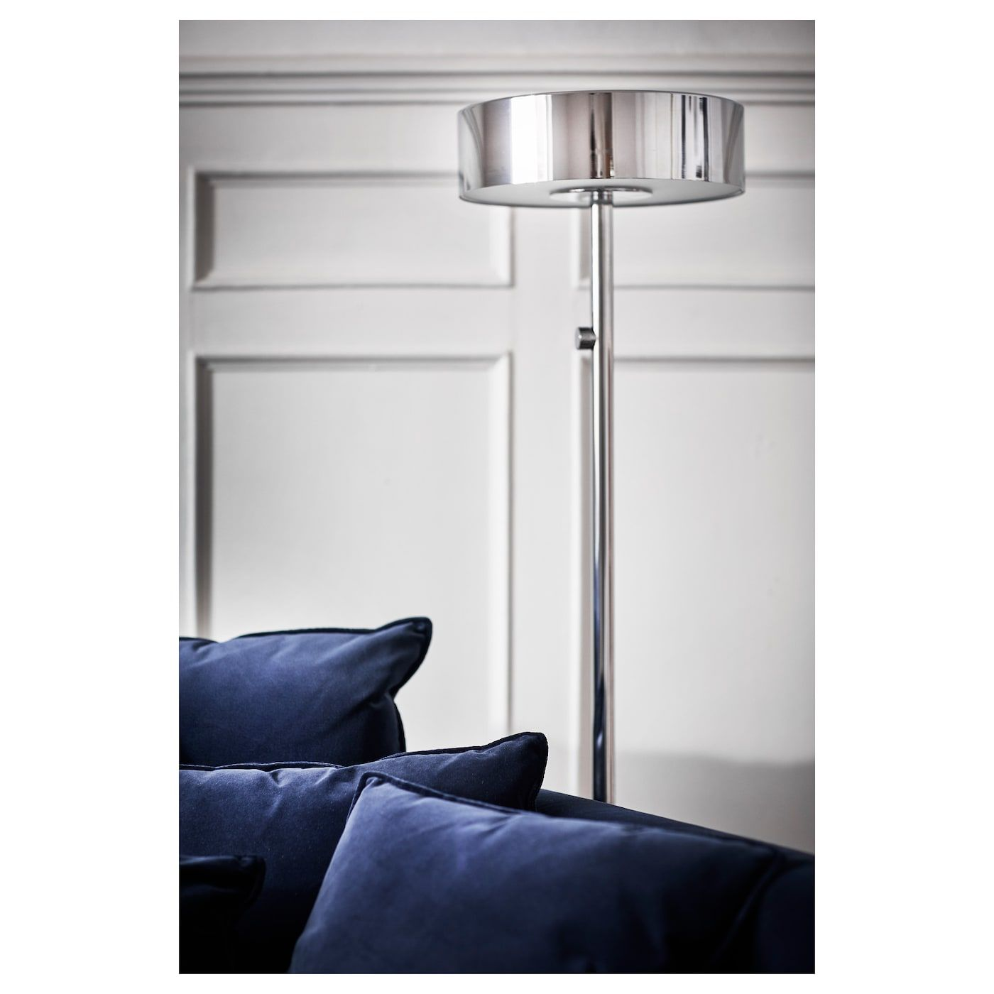 Stockholm 2017 Floor Lamp With Led Bulb Chrome Plated Floor