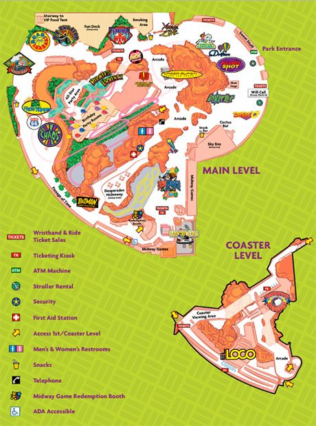 here is a map with all you need to know about adventuredome theme park in nevada - Adventuredome Halloween