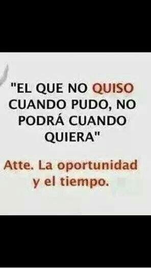 #oportunidad #tiempo