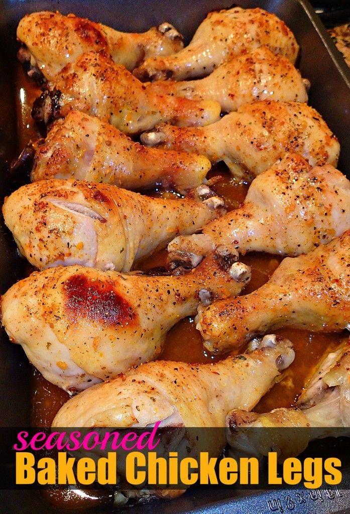 Season Chicken Legs Italian Garlic Rice Garlic Parmesan