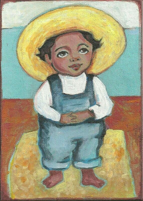 Little Diego Rivera by Karen Haring