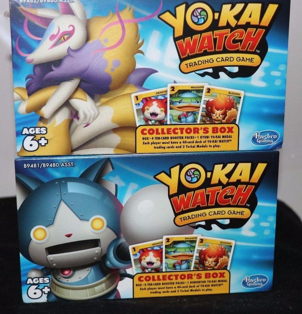 Kyubi Robonyan Yo Kai Watch Trading Card Game Collector S Box Cards Buy Lot Trading Cards Trading Cards Game Cards
