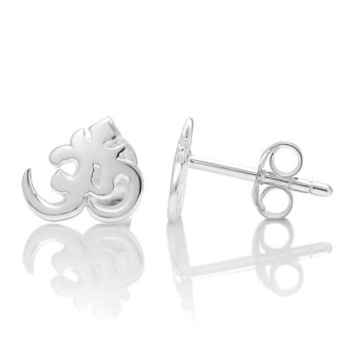 925 Sterling Silver Tiny Aum, Om, Ohm, India Symbol Post Stud Earrings 10 mm Spiritual Jewelry for Women, Teens, Girls - Nickel Free Chuvora,http://www.amazon.com/dp/B0099HWRT2/ref=cm_sw_r_pi_dp_uhTJsb1D0NSG7BPC