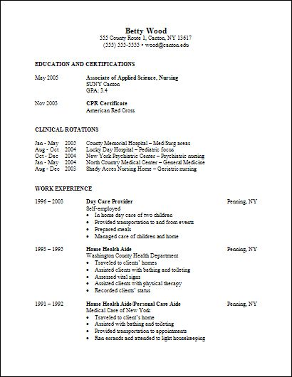nursing resume assistant student with examples graduate template - nursing student resumes