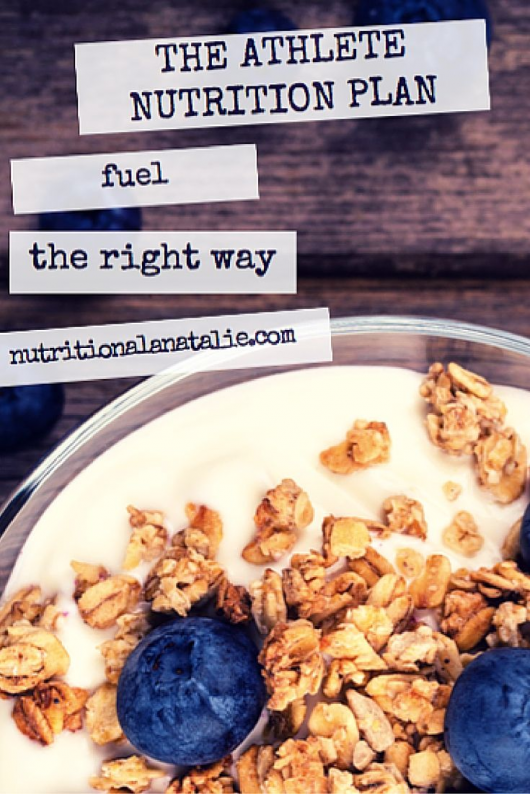The Athlete Nutrition plan is a 2week meal plan for any