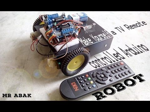 Make yourself a tv remote controlled arduino robot arduino electronics projects make yourself solutioingenieria Gallery