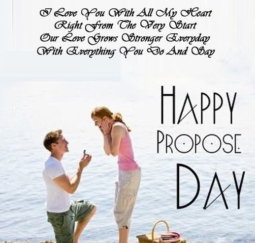 Image result for Happy Propose Day Shayari in English