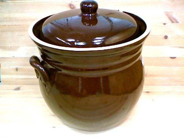 Polish Pottery 338 Oz Fermenting Crock Pot Boleslawiec Stoneware Polmedia H3208h