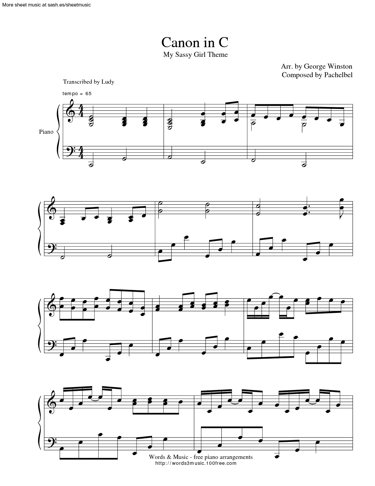 Sorry, not My sassy girl guitar tabs