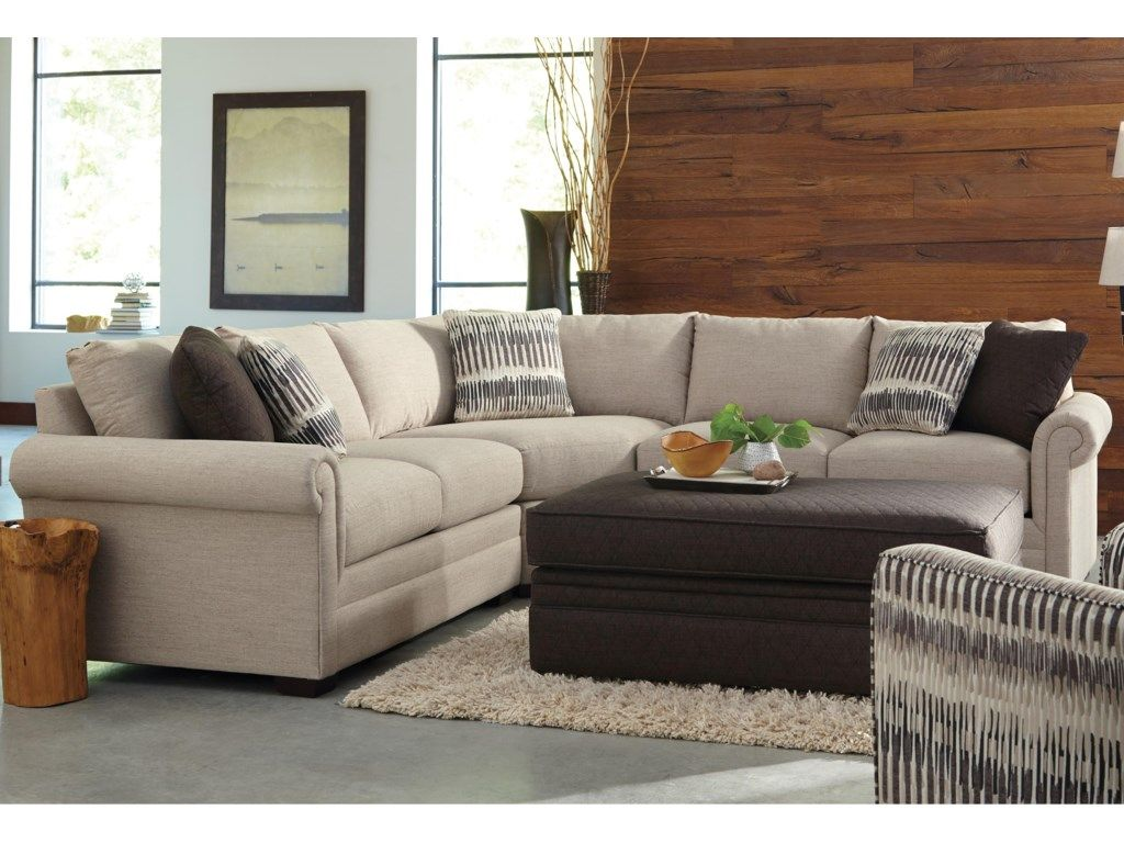 F9 Design Options Customizable 3 Piece Sectional With Pie Wedge By Craftmaster At Belfort Furniture Furniture Sectional 3 Piece Sectional