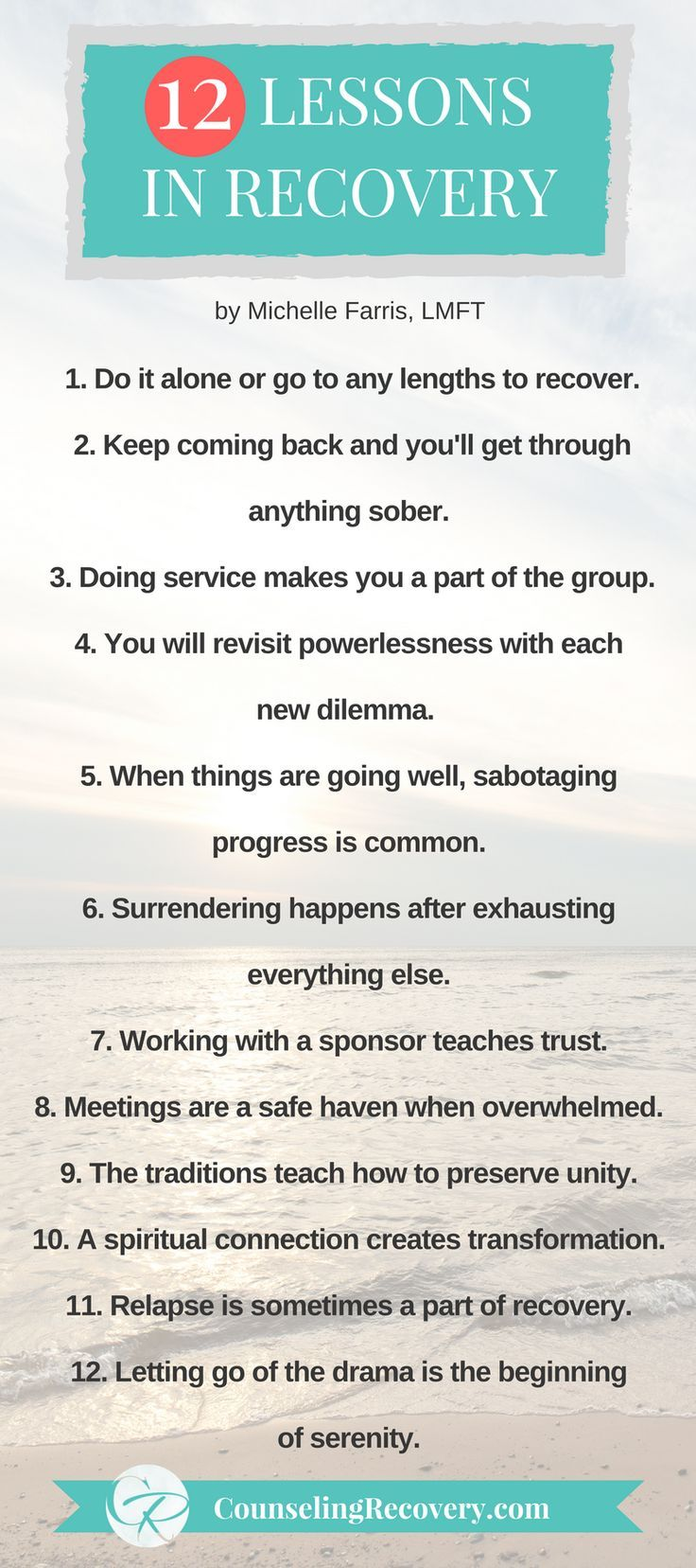 Workbooks step one na worksheets : 12 Lessons in Recovery (and in Life) | Codependency recovery, Step ...