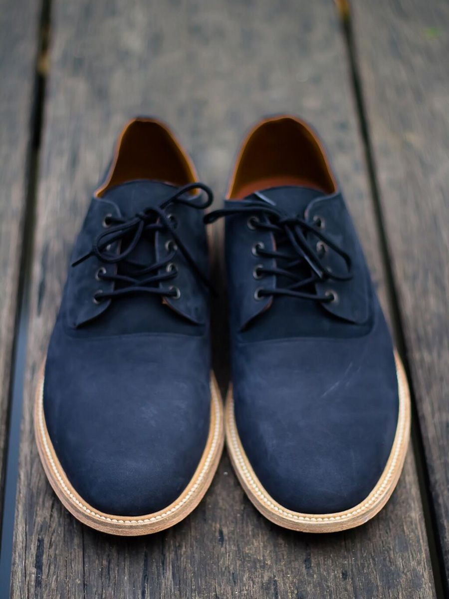 Davu Shoes Hugo Nubuck Old Navy Leather