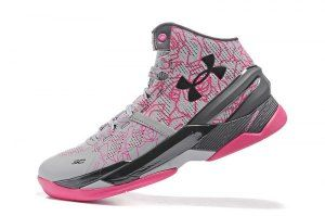 029eab1e5bd8 Mens Under Armour UA Curry 2 Two Mother S Day Tropic Pink 1259007 037  Basketball Shoes