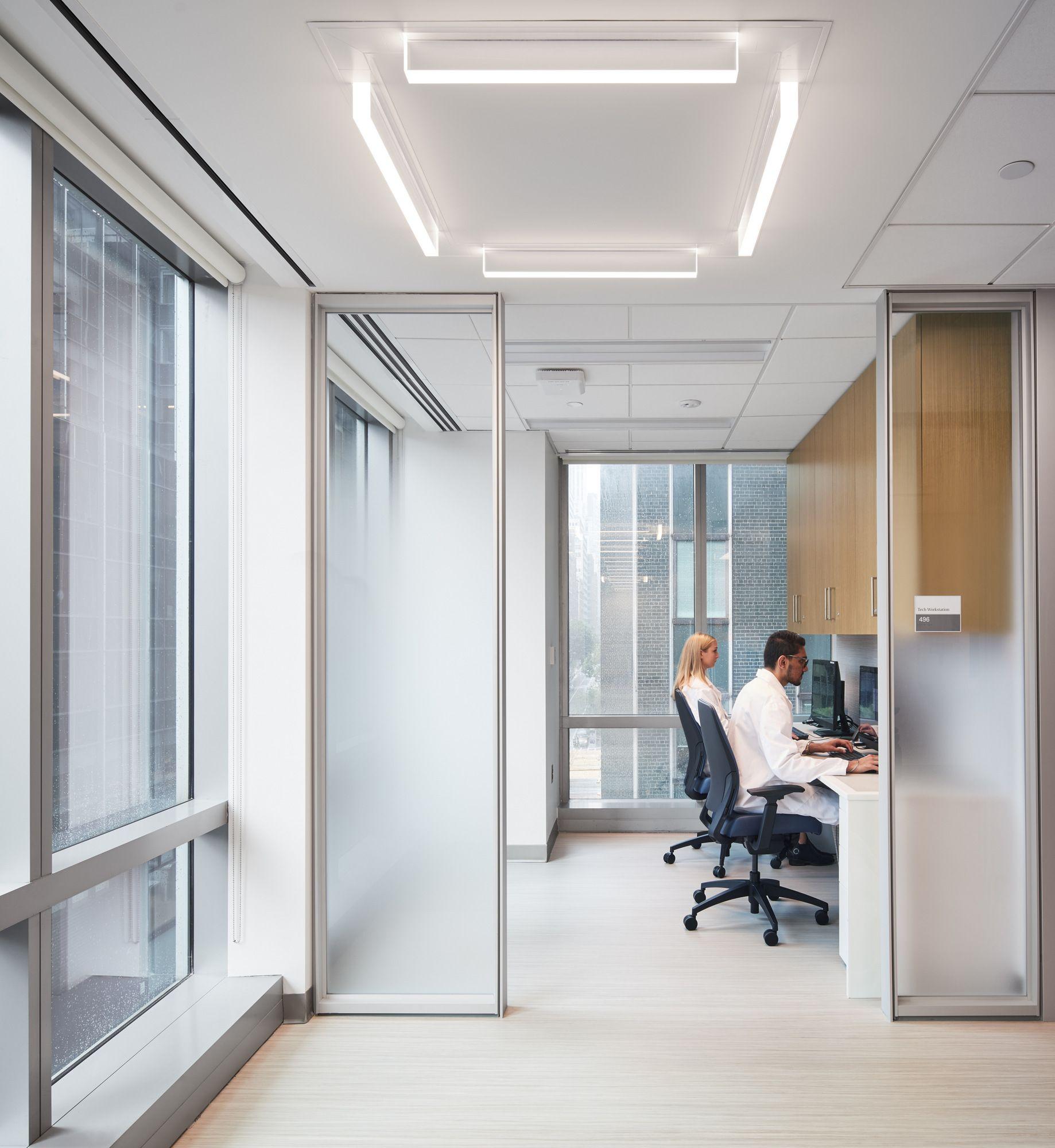 Nyu Langone Health Ambulatory Care Center Healthcare Snapshots In 2020 Ambulatory Care Health Care Office Interiors