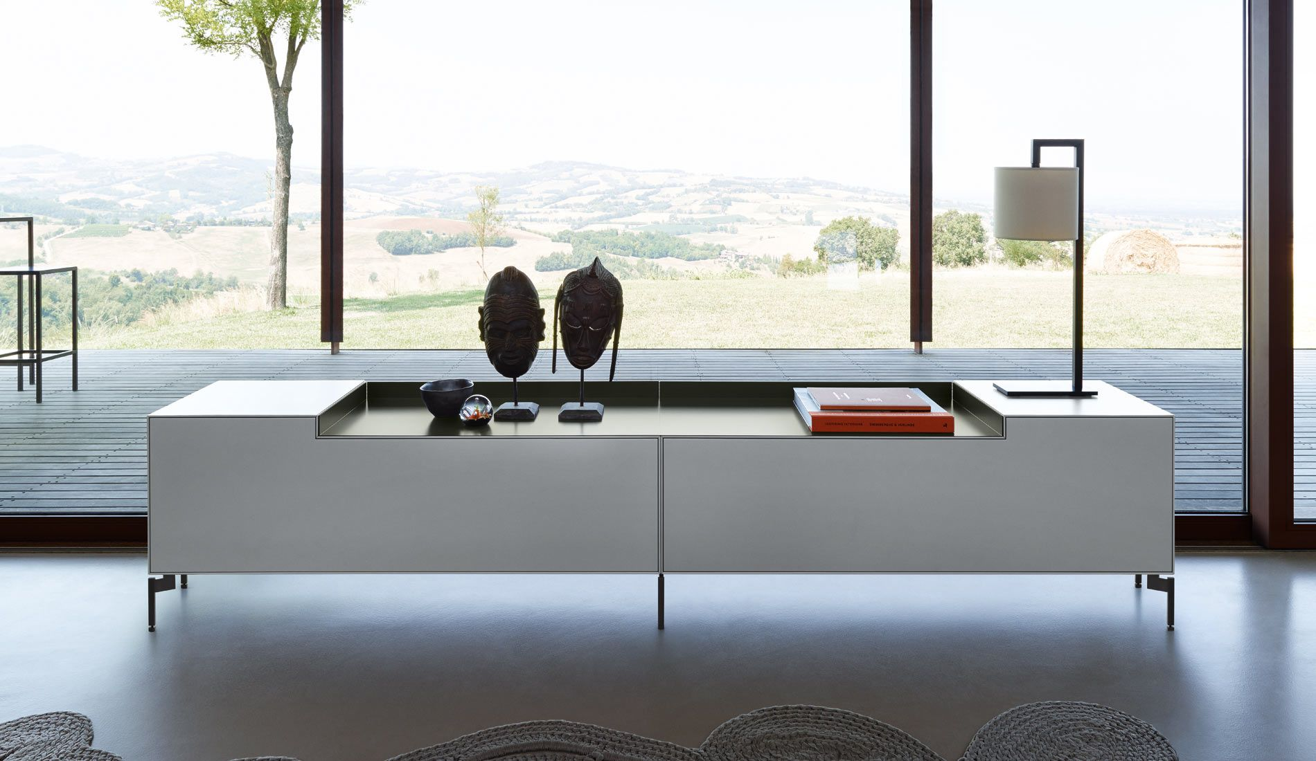 Piure nex pur box step sideboard fine furniture for Sideboard regal