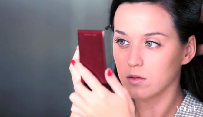 Beauty Buzz Katy Perry's Full Makeup Routine Video