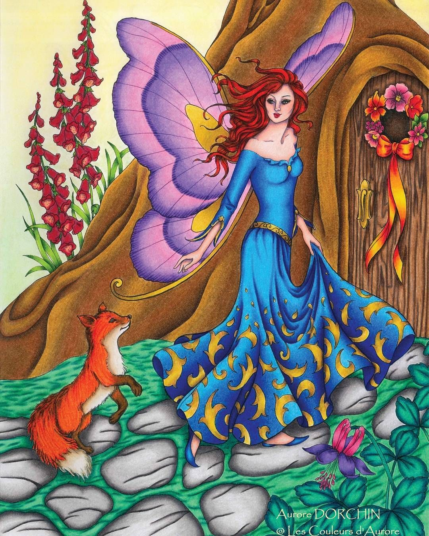 Pin de conny en Hadas | Pinterest | Hada, Libros para colorear y ...
