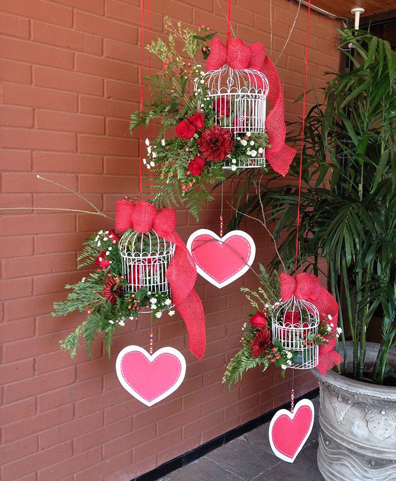 San valentin arreglos florales arrangement flores de for Decoracion san valentin