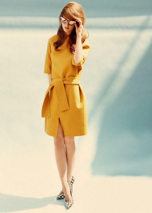 60's + mustard color