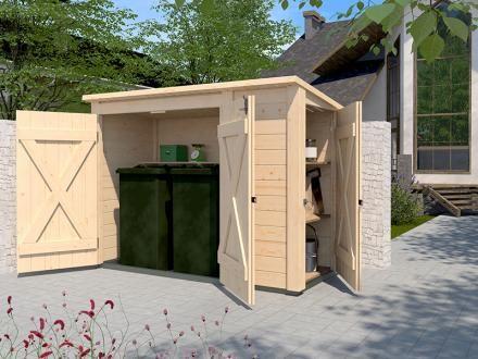 PultdachMehrzweckbox 367 (mit Bildern) Doppeltüren