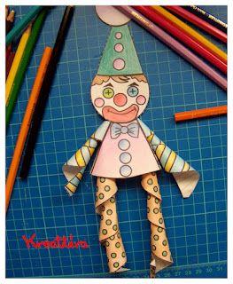 kreattiva: Creiamo un clown con le matite Staedtler