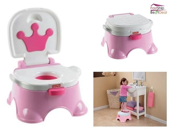Admirable Fisher Price Step Stool Potty Training Princess Pink Baby Pabps2019 Chair Design Images Pabps2019Com
