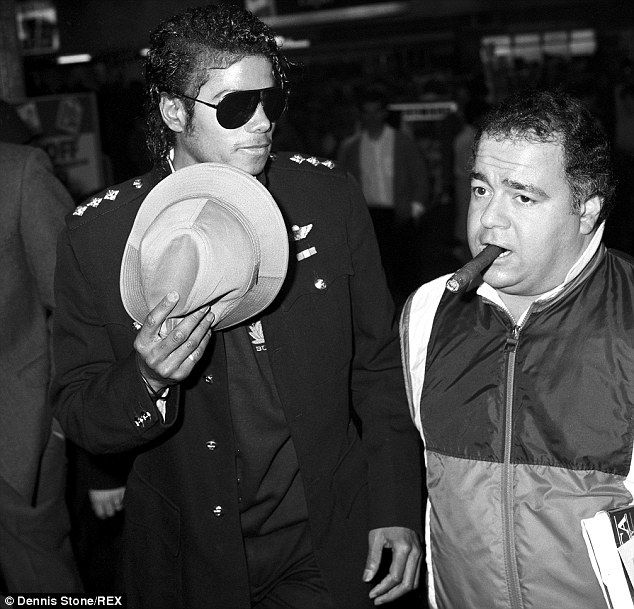 Warnings: Frank Dileo, right, Michael Jackson's manager, believes the singer was victim of...