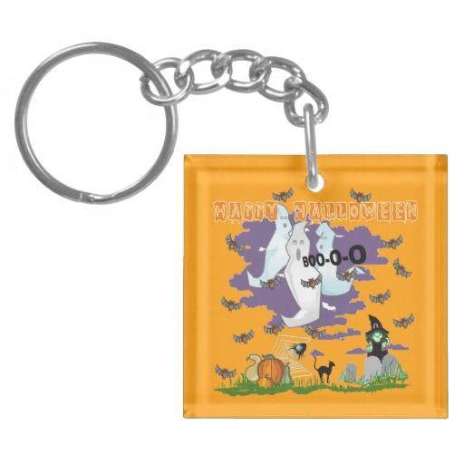 Ghost Witch Key Chain Acrylic Key Chain