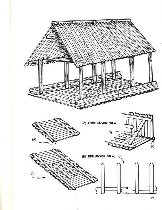 Make It With Craft Sticks Wood Popsicle Stick Bird House