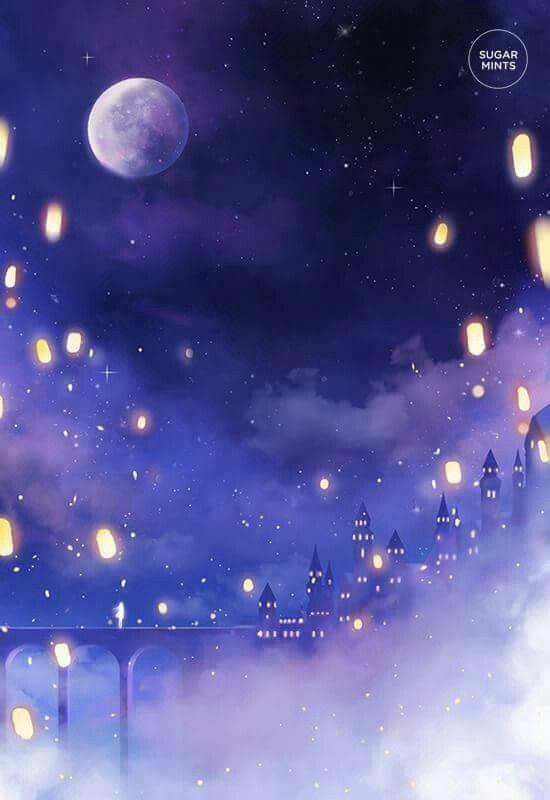 La La Land Art Night Background Beauty