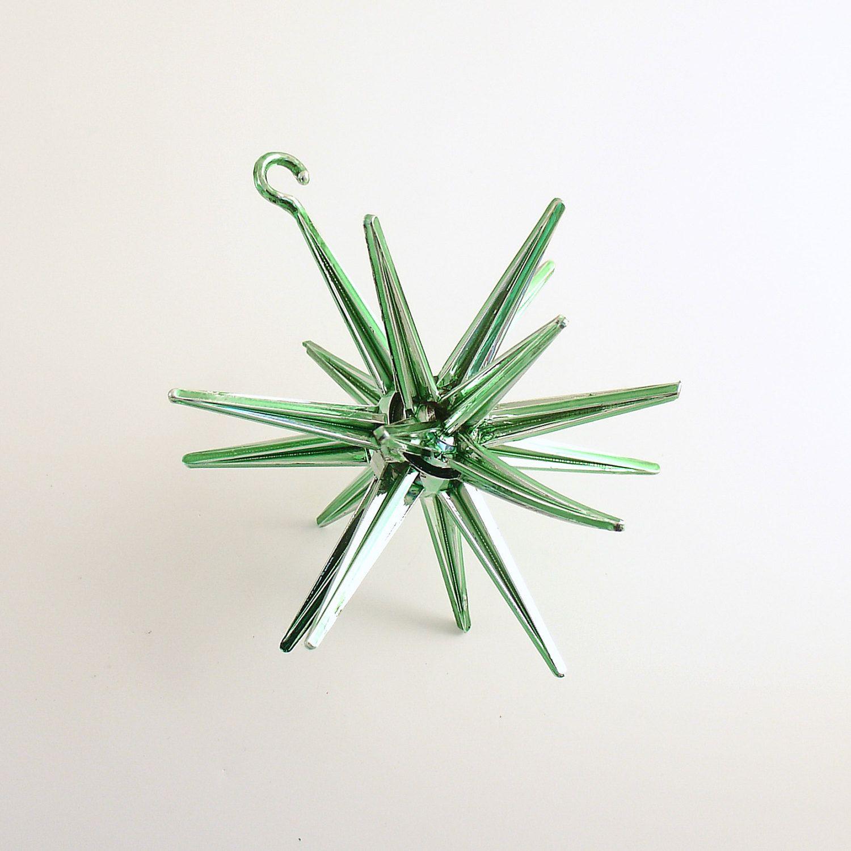 Vintage Christmas Ornament Sputnik Star Mid Century Space Age ...