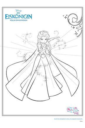 Ausmalbild Elsa Coloring Pages Elsa Coloring Pages