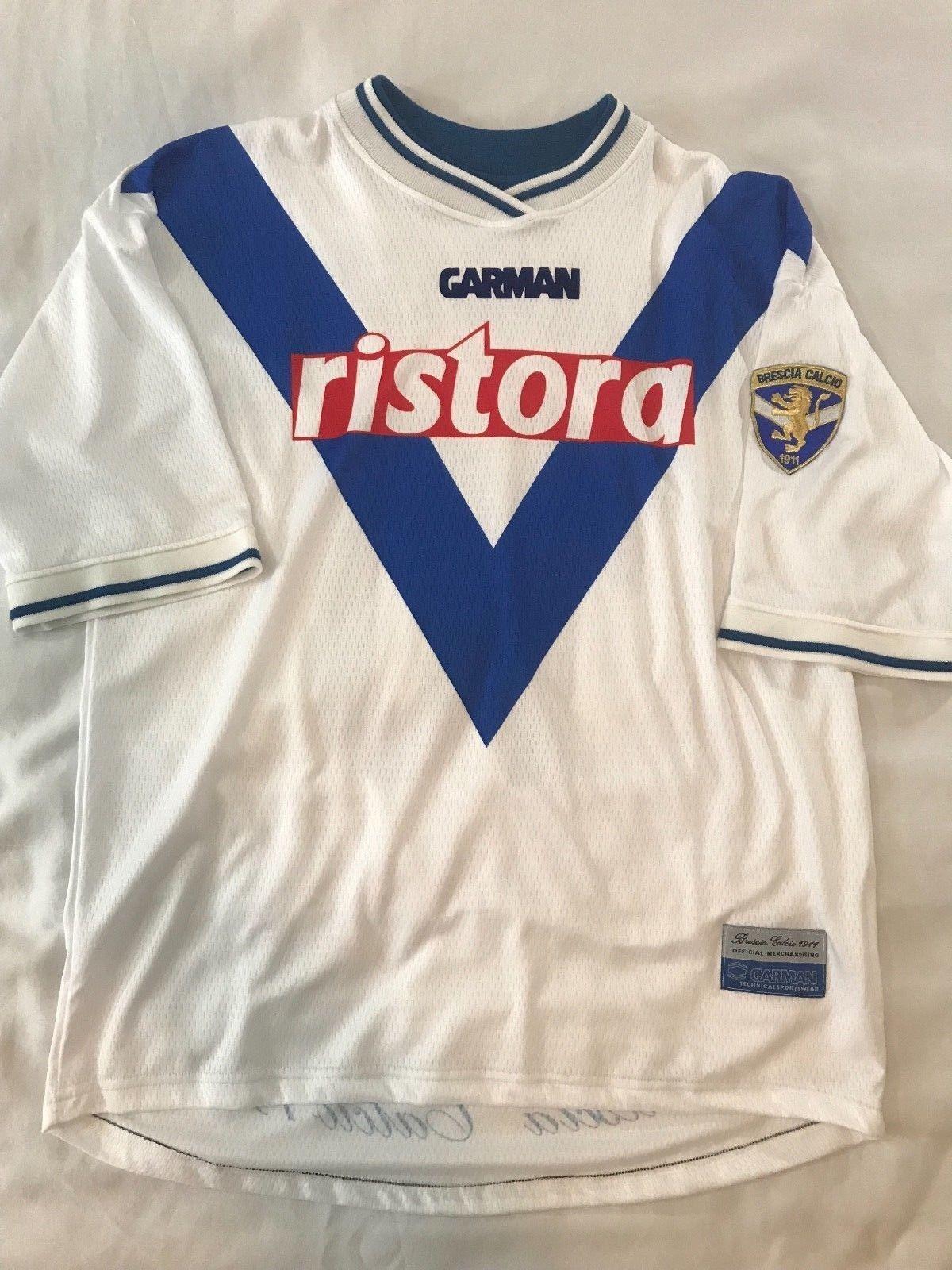 a7d8ff8d190 RARE! BAGGIO  10 Brescia Calcio away Jersey Shirt Maglia Italy Italia  soccer (eBay Link)