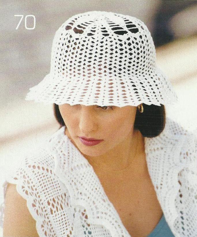 La valiosa colección de sombreros de Podarok ganchillo   el blog ...