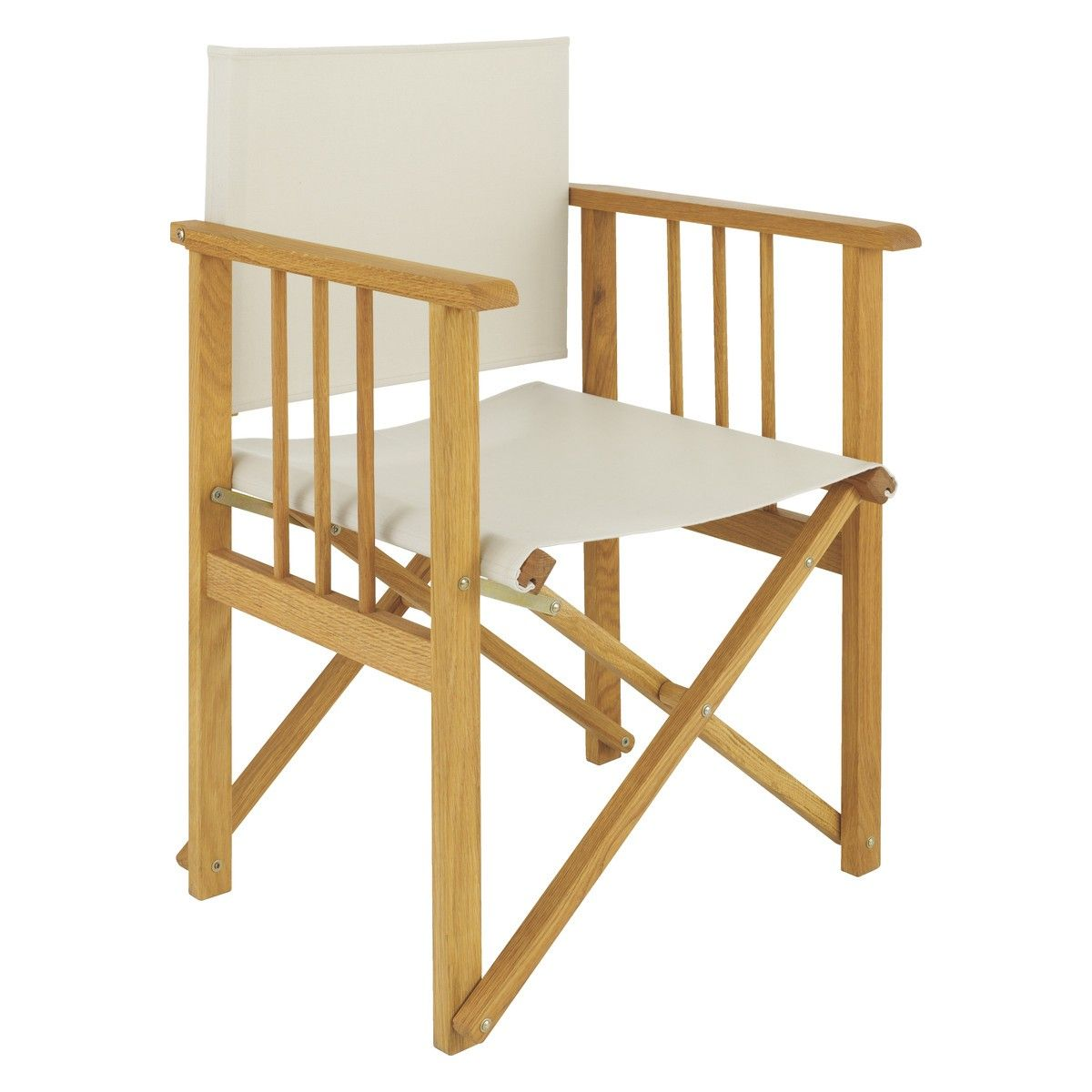 Africa Solid Oak Directors Chair Frame Tropical Lİvİng