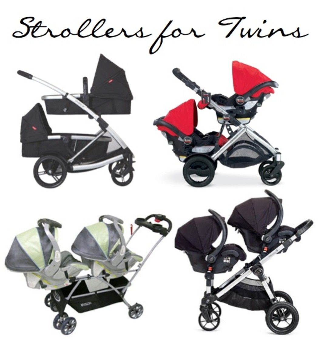 Gear Girl Best Double Strollers for Twins Double
