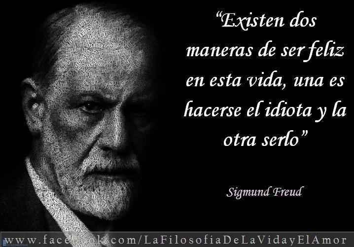 Sigmund Freud - Felicidad Idiota