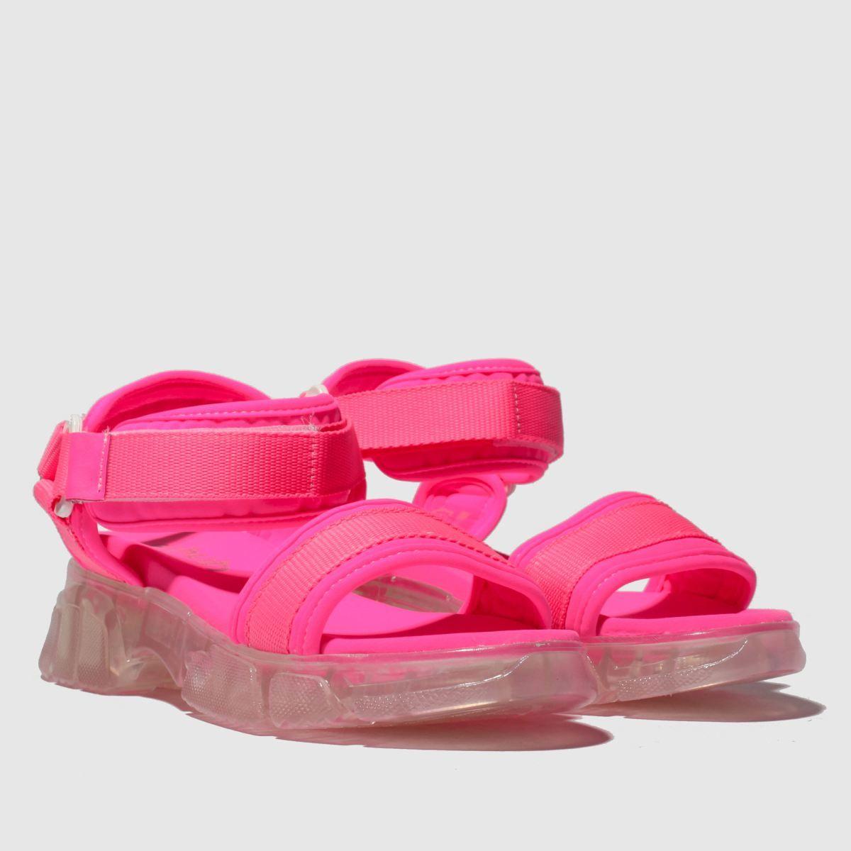 Pink energise sandals