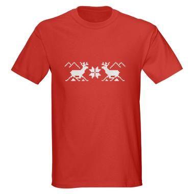 Christmas T-shirt reindeer