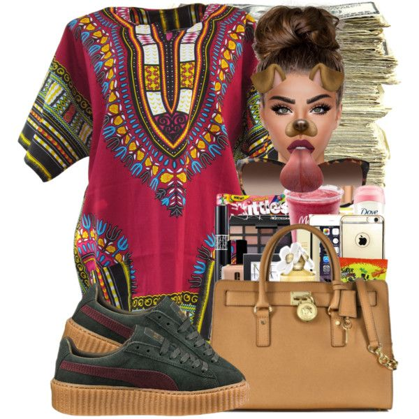 Creeper by ballislife on Polyvore featuring Puma, Emporio Armani, Lime Crime and SEN