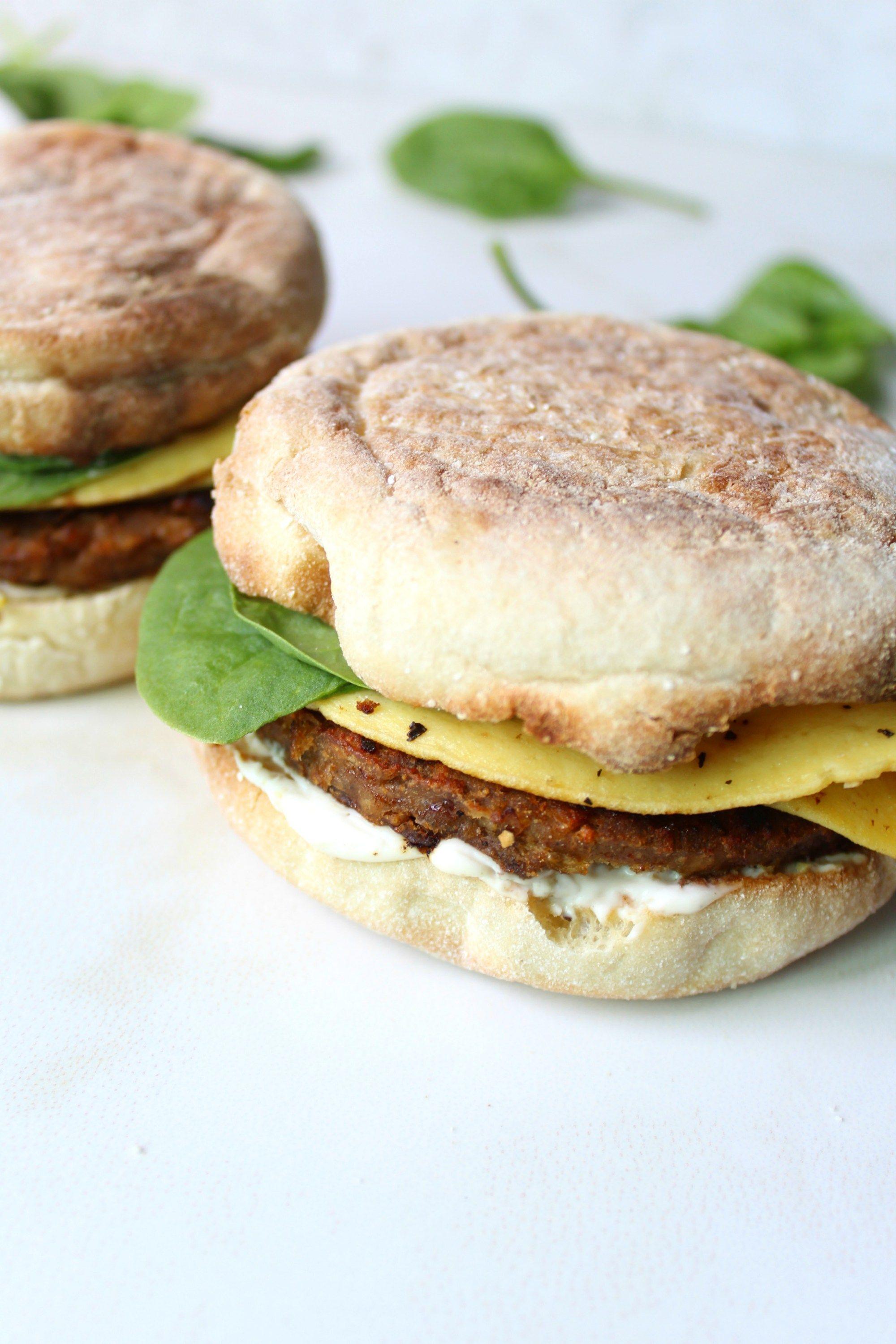 The Best Vegan Breakfast Sandwiches This Savory Vegan Recipe Savory Vegan Breakfast Sandwich Best Vegan Breakfast